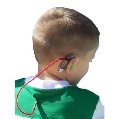 Our SafeNSound Single Clipz™ are perfect for those who wear only one BTE hearing instrument and want to keep is secure by attaching it to the wearer's clothing. This product comes in Holiday colors of Red or Royal Blue.