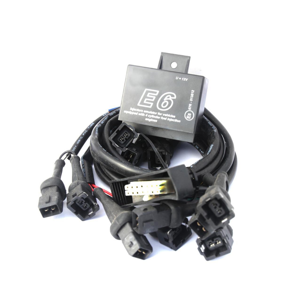 E6 6CYL Injectors Emulator