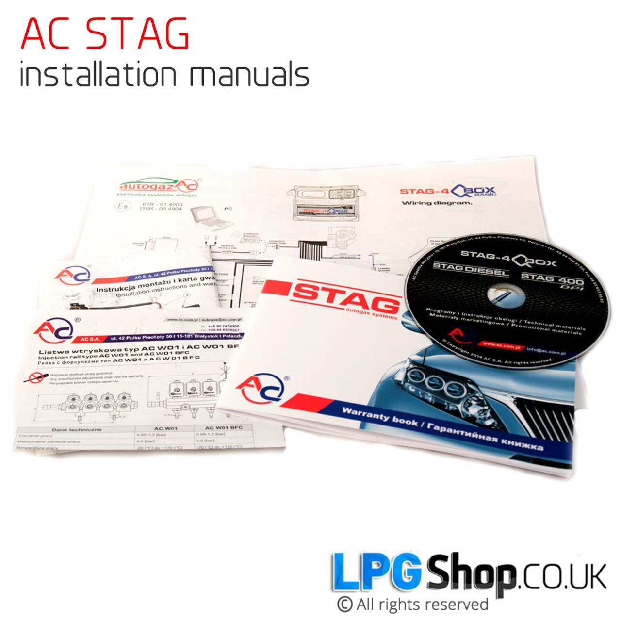 Ac Stag Qbox Plus Obd 4 Cylinder Conversion Lpg Cng Ecu
