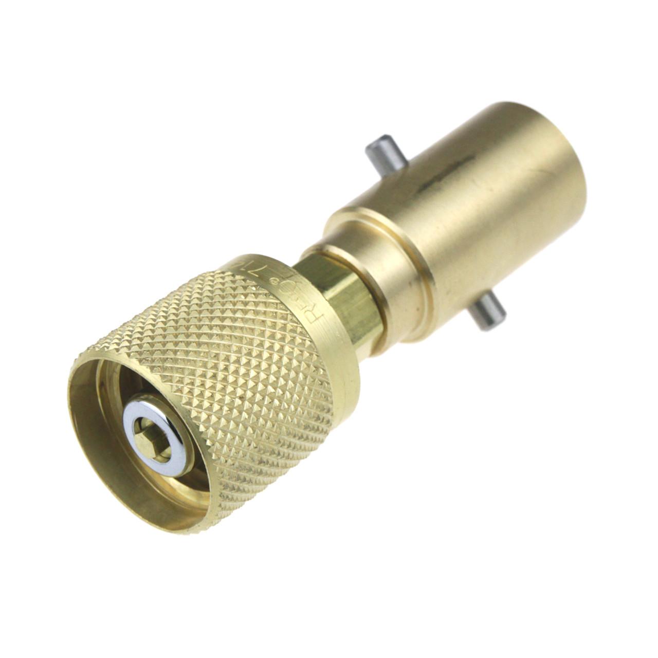 Forklift Bottle Filling Adapter UK Bayonet Rego