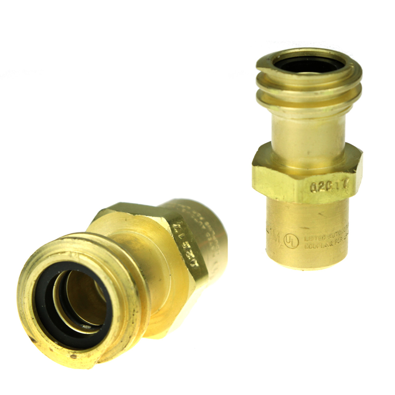 1-1//4 Acme Female Inlet x 1//4 NPT Female Outlet Rego 7141F Quick Disconnect Service Check Valve Connector