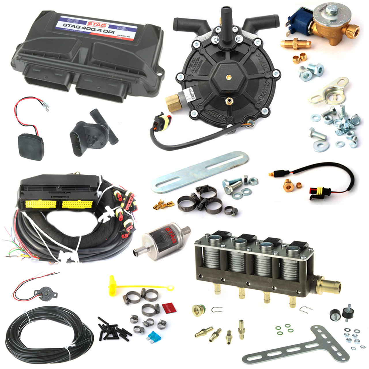 4CYL AC STAG Direct Injection Kit up to 150HP