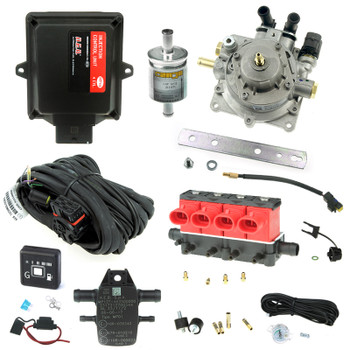4 Cylinder Autogas Conversion Kit Based On Aeb Mp48 Ecu With Valtek Cpr And Type