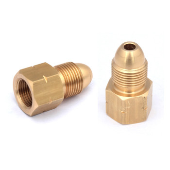 "Connection for LPG propane gas hose 3//8/"" Thread To 8mm Nipple Brass Fitting"