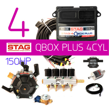 4CYL AC STAG Direct Injection Kit up to 150HP - LPG Shop