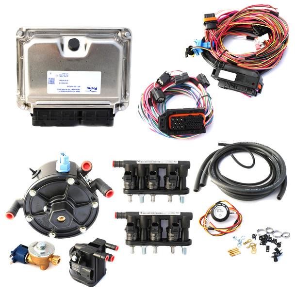 6 cylinders PRINS VSI-2.0 Kit set system lpg cng