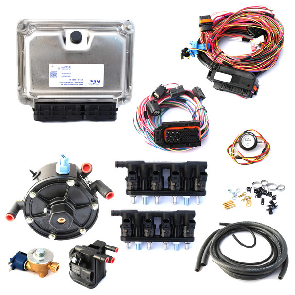 8 cylinders PRINS VSI-2.0 Kit set system lpg cng