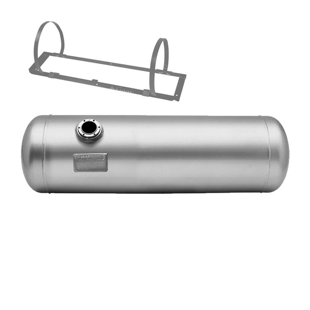 400-1097-125Liters Cylindrical Tank from STAKO with Mounting Frame and Fastening Straps