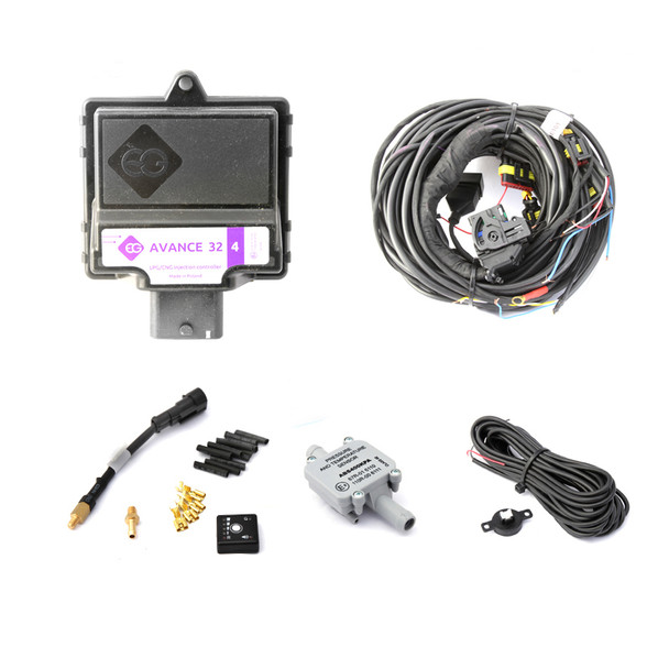 europegas avance 32 4cylinders autogas ecu lpg cng controller conversion kit