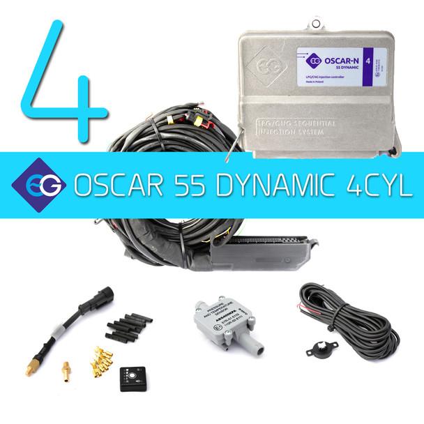 4CYL ECU: EUROPEGAS OSCAR 55 Dynamic