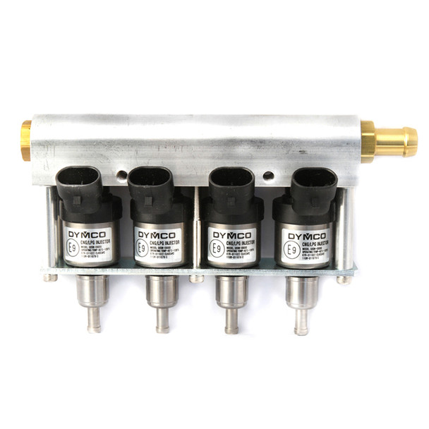 dymco gism-i3000 lpg cng injector 4 cylinders silver rail type injector autogas