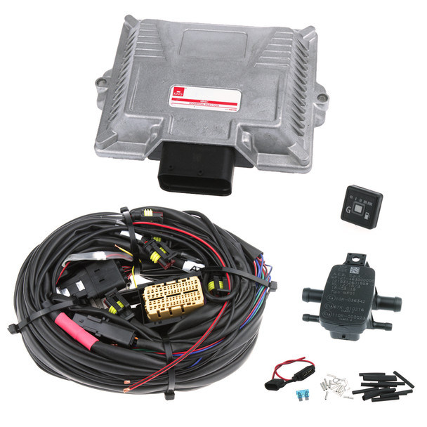KING MP6C OBD – compact 1 – plug-in system supports 5-6 cylinder cars in an aluminum housing, combined with OBD and using information from the OBD map corrections LPG   CNG in real time