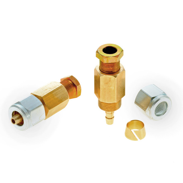 8mm copper lpg pipe coupling 6mm faro poly pipe connection