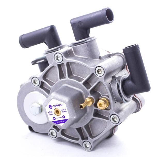 europegas supremo 330hp autogas reducer regulator vapourizer integrated 8mm  inlet solenoid valve