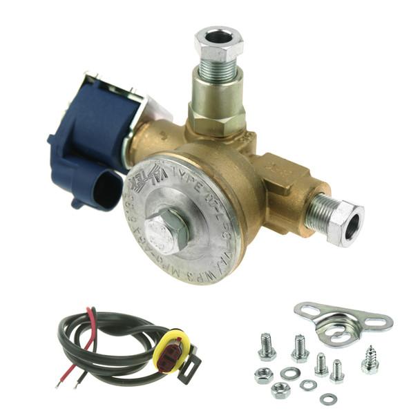 8mm gas solenoid valve valtek with filter integrated autogas lpg shut off