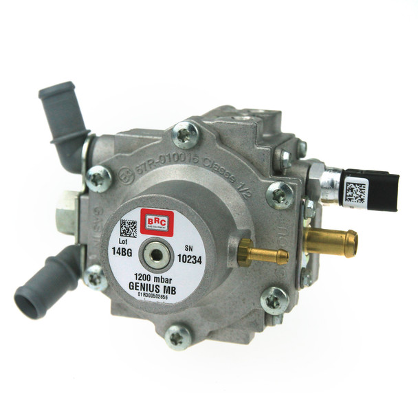 brc genius mb 1200 mbar autogas lpg reducer regulator vapourizer