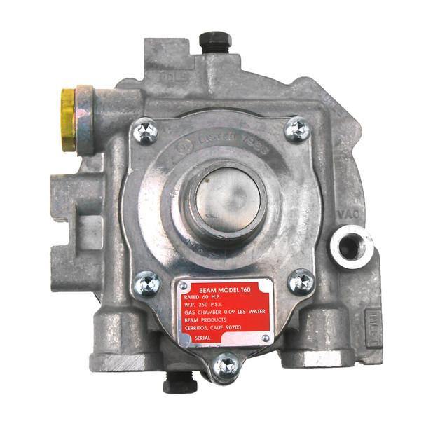 impco beam model t60  60 hp gas chamber propane forklift gas regulator