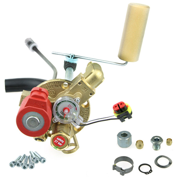 brc europa 2 autogas lpg multivalve with level sensor and accessories cylinder 270mm