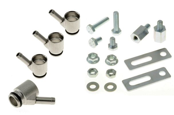 Drilling-Free Bosch Injector Adapters 5mm Single Seal