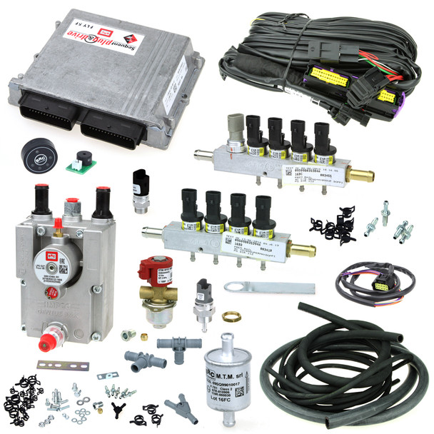 brc sequent plug and drive fly sf 8 cylinder autogas system mtm gas propane conversion