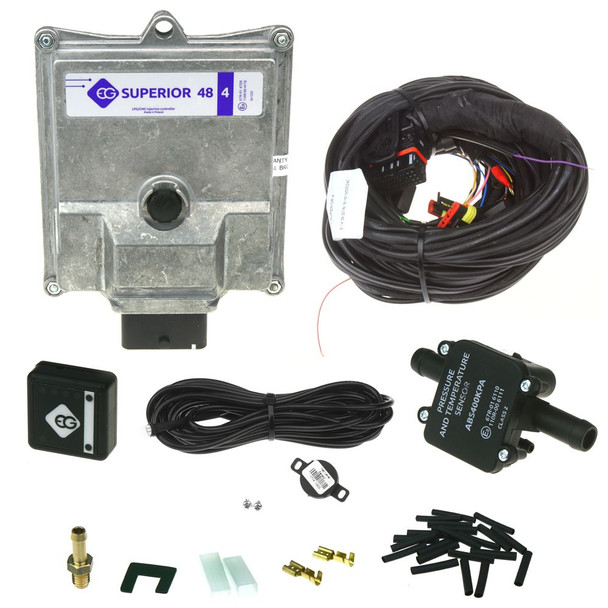 4CYL ECU: EUROPEGAS Superior 48 with TAP