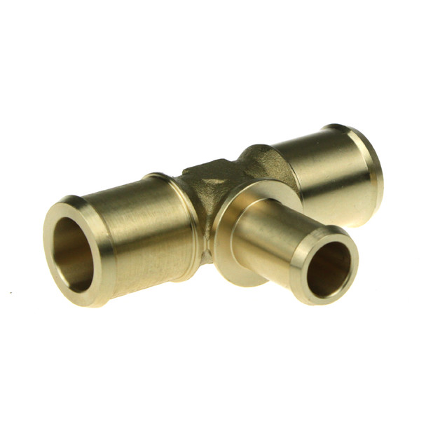 Water T 23x16x23mm Brass
