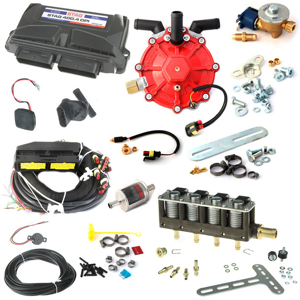 4CYL AC STAG Direct Injection Kit up to 250HP