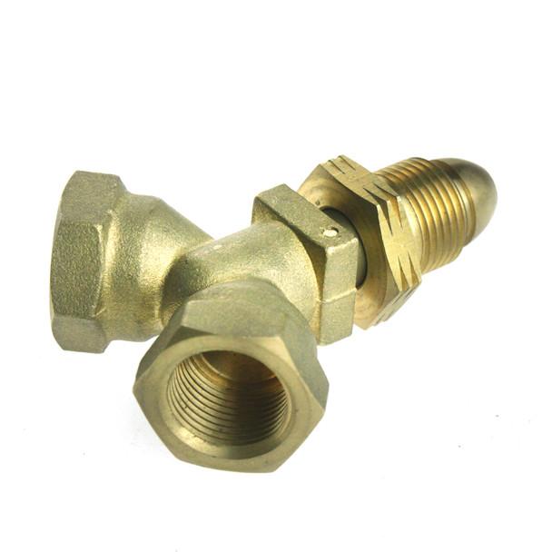 UK POL T Piece Calor Connector 5/8UNF
