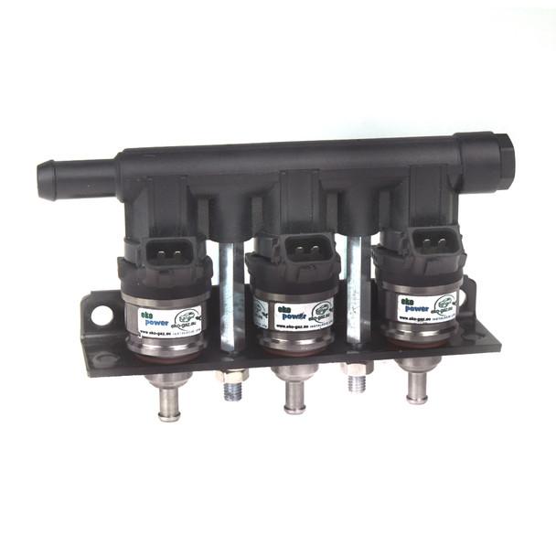 EKO POWER 100cc Brown 3CYL Injector Rail