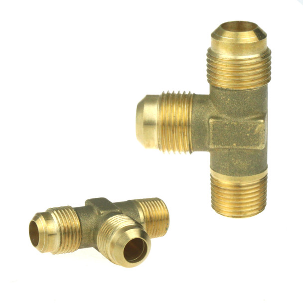 "T Connector for Filling Two Bottles JIC 3/4"" G3/8"""