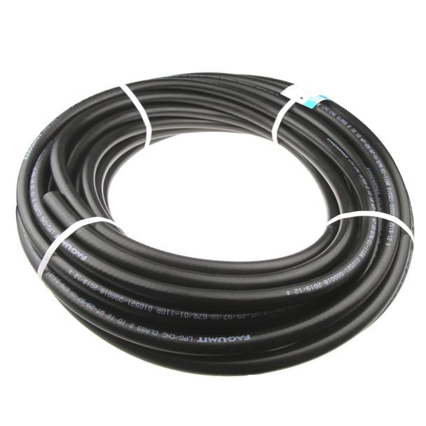 14mm LPG CNG Gas Rubber Hose Fagumit - 1 meter
