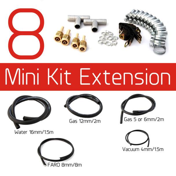 8 Cylinder Mini Kit Pipe LPG Autogas Propane Conversion Extension