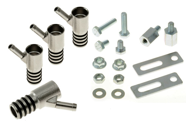 Drilling-Free Bosch Injector Adapters 6mm Quad Seal