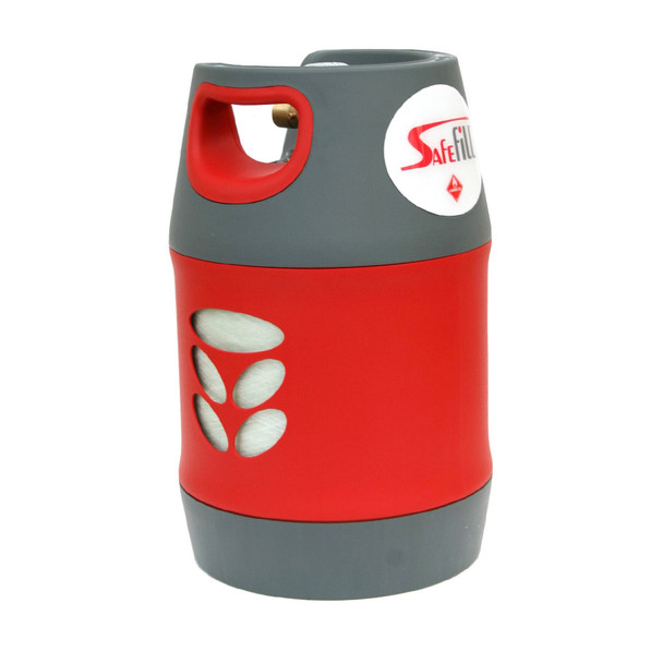 safefill 7-5kg refillable lpg propane bottle with protection valve composite