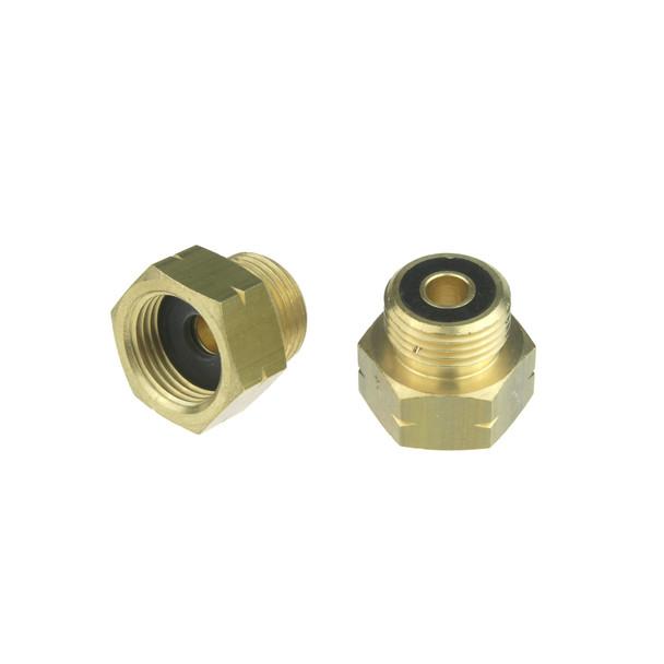 Shell G.8 to DIN G.5 W21.8 Left Thread Bottle Adapter