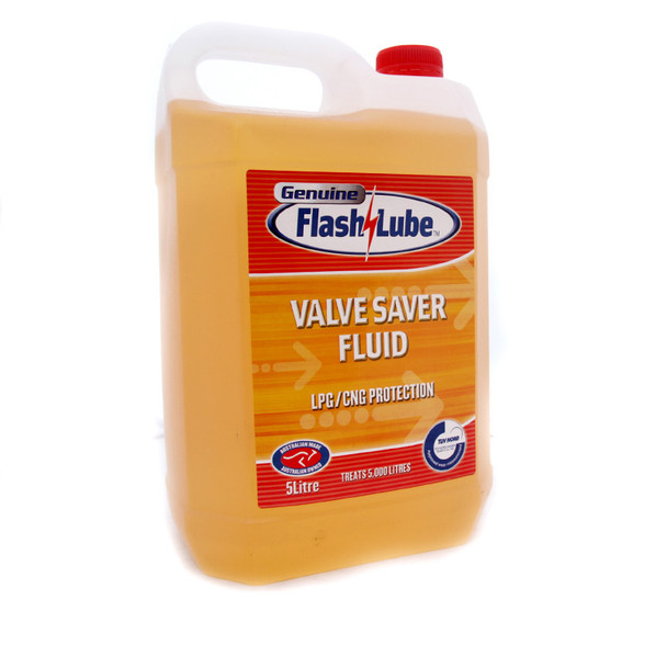 Flash Lube Valve Saver Fluid LPG CNG Protection 5 Litre Canister