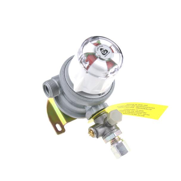Changeover Switch Gas Regulator Bulkhead 30mBar for Motorhomes