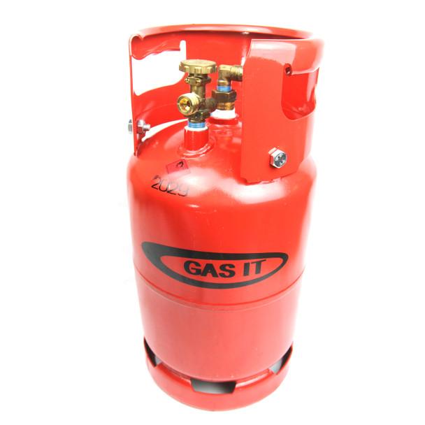 GAS IT Small 6kg Refillable LPG Gas Bottle