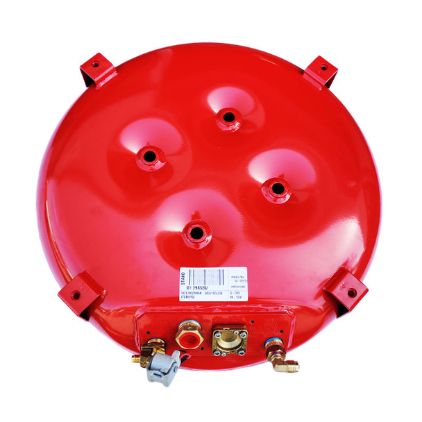 Toroidal Red Vapour Gas Tank Button 600-230-55L