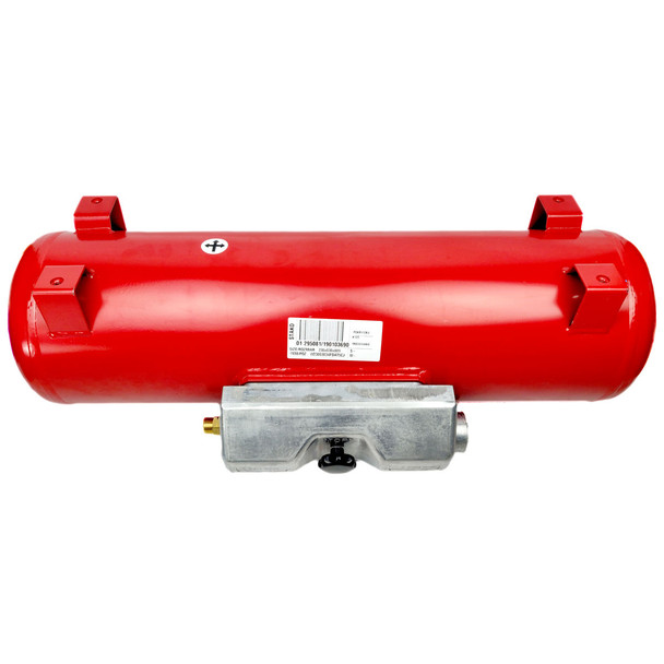 40 Litres Motorhome Gas Tank with Feet Ø270mm by 792mm