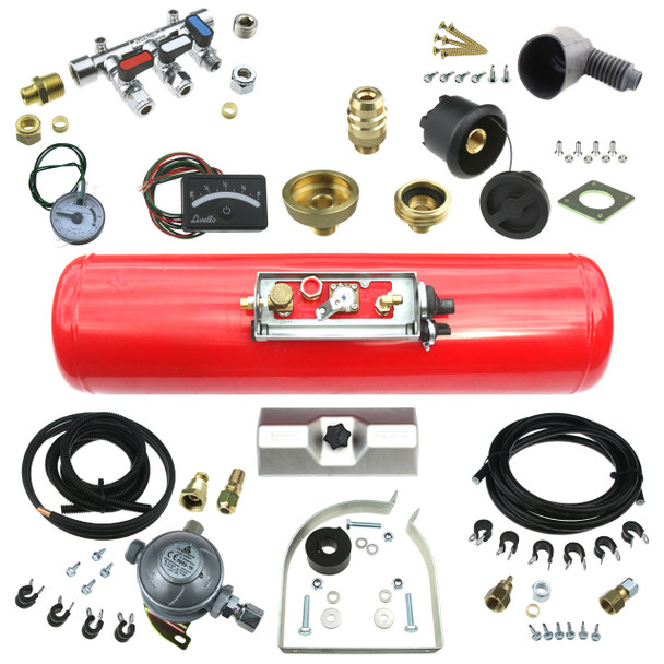Leisure Gas Tank LPG Mercedes Sprinter VW Crafter 2006-2020 Underslung LPG Gas Tank Kit for Motorhomes build your own kit