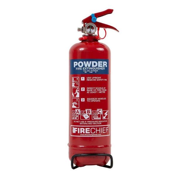 Fire Extinguisher 1KG Dry Powder ABC All Purpose
