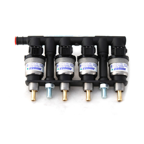 KEIHIN BLUE 52cc - 4 cylinders LPG CNG GLP Injector Rail