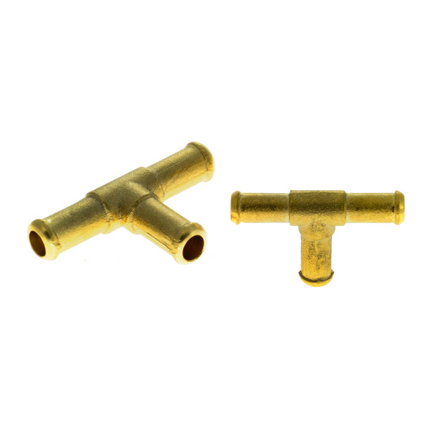 10mm equal T connector 10 by 10 by 10mm Brass Gas Hose