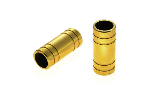 19mm brass hose coupling equal straight