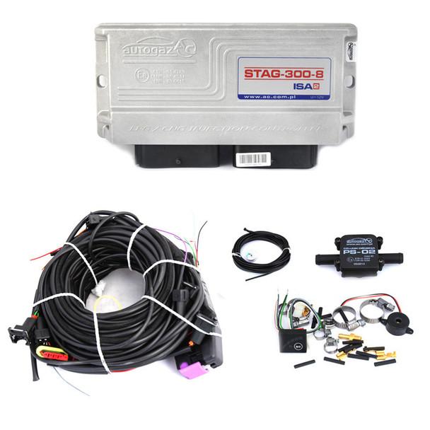 AC STAG-300-8 ISA2 8 Cylinder ECU Controller KIT LPG Autogas Propane