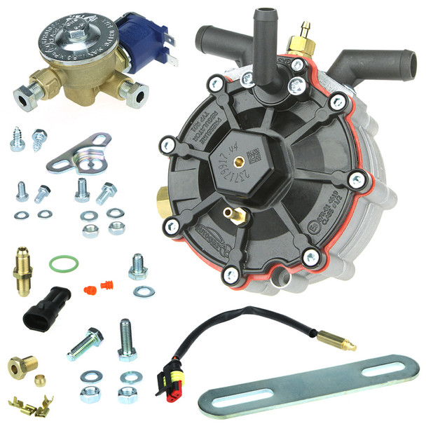 ac stag r01 150hp autogas lpg glp regulator reducer vapourizer with 6mm valve filter mounting accessories