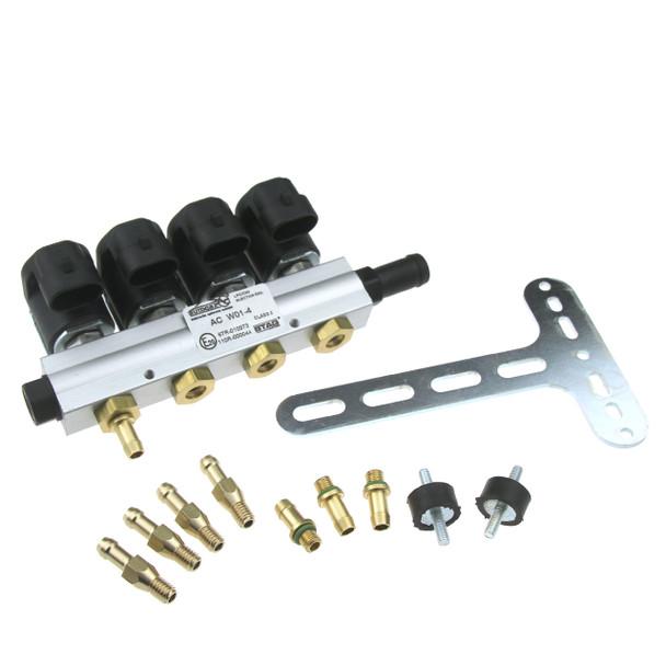 AC STAG 4CYL W01-BFC Injectors Rail