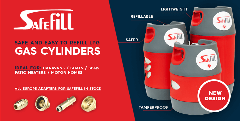 Safefill - LPG gas cylinders