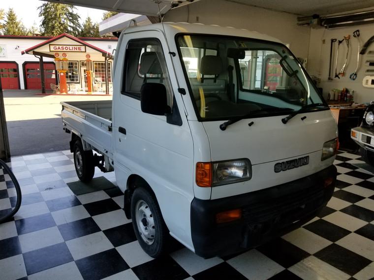 Suzuki Carry 4WD truck  #DD51T-6576